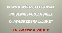 """Festiwal Piosenki Harcerskiej o""""Wąbrzeską lilijkę"""""""