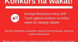 Konkurs nawakat wKomisji Rewizyjnej!